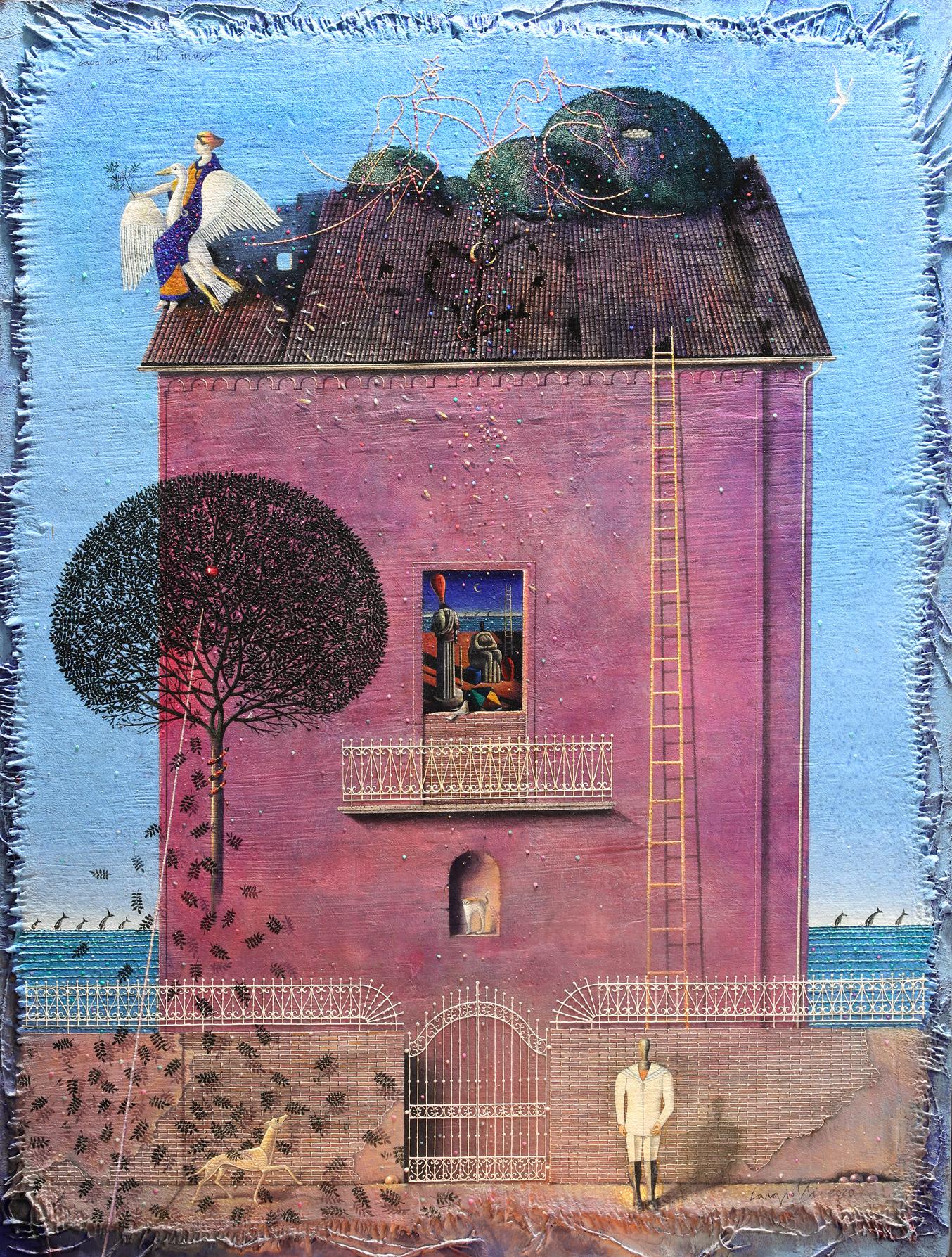 Casa rosa delle muse